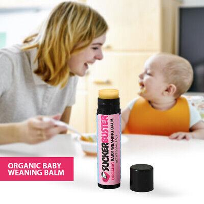 *Suckerbuster Organic Baby Weaning Balm.10oz 3g Stop Breastfeeding Thumb sucking