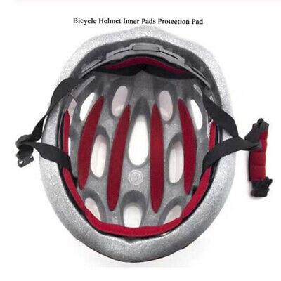 Recambio Bicicleta Casco Almohadilla Interior Esponja Ciclismo Gorra Acolchado