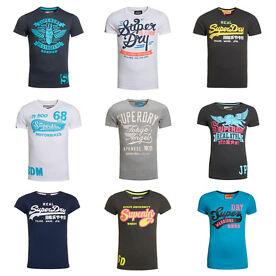 Superdry T-Shirts für Damen & Herren versch. Modelle B-Ware