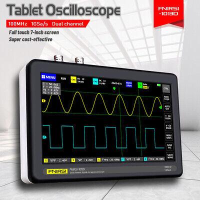 7 Inch Lcd Digital Tablet Oscilloscope 2ch 100mhz Bandwidth 1gsas Sampling Rate