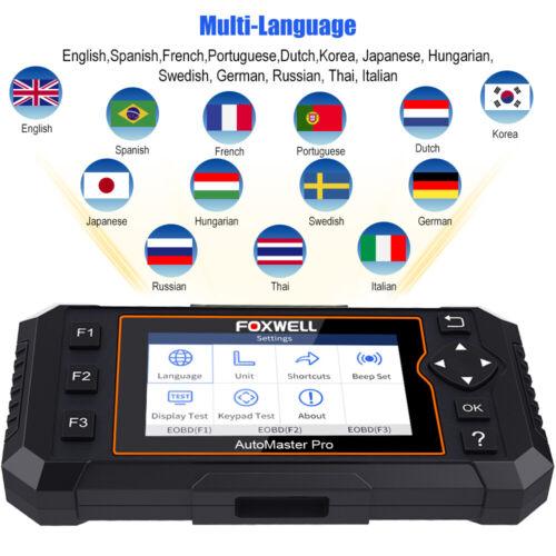US Automotive OBD2 Scanner Full System Diagnostic Tool Oil EPB Reset Code Reader