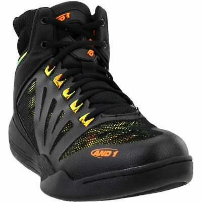 AND1 Overdrive  Casual Basketball  Shoes Black Mens - Size 8.5 D