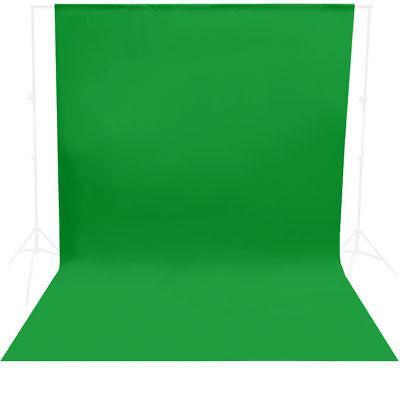 10 x 10 ft Chromakey Green Screen Backdrop Photography Studio Background