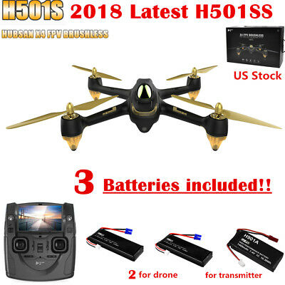 Hubsan H501S X4 Drone FPV Brushless RC Quadcopter 5.8G 1080P Follow Me GPS RTF