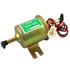 New Gas Diesel fuel pump Inline Low Pressure electric fuel pump 12V
