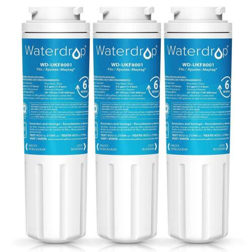 Waterdrop UKF8001 Refrigerator Water Filter, Compatible with