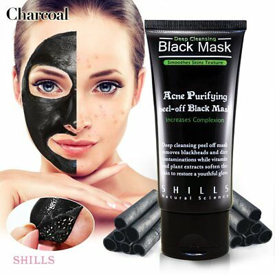 SHILLS Purifying Black Peel-off Mask,Facial Cleansing, Blackhead Remover Deep Cl
