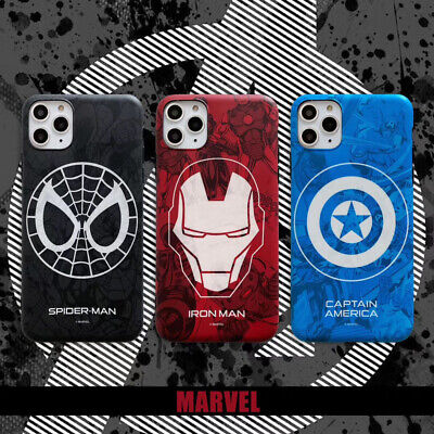 Marvel Spiderman Ironman Soft Phone Case Cover For iPhone11ProMax 6s 8Plus XR