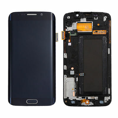 Samsung Galaxy S6 Effectiveness Verizon G925V LCD Display Touch Screen Frame - Black USA