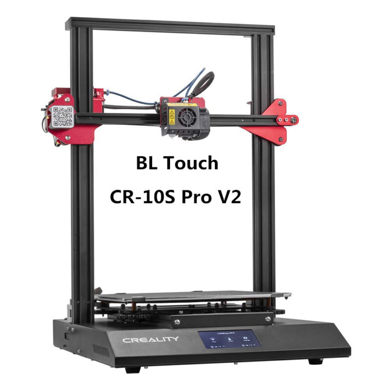 Used Creality CR-10S Pro V2 3D Printer BL Touch 300X300X400mm