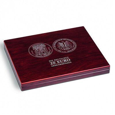 Leuchtturm Nr. 350494 Münzkassette VOLTERRA UNO für 30 dt. 20-Euro-Gedenkmünzen