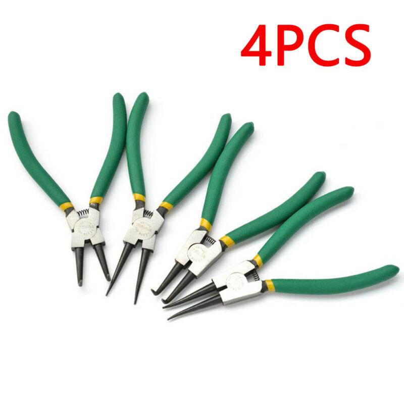 "Circlip Plier Set 6/"" Snap Ring Circlip Pliers internal external 150MM 4PCS"