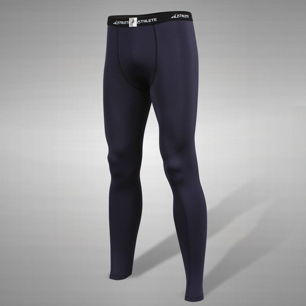 D01N ATHLETE Navy Long Tights