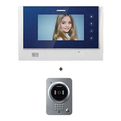 Commax LCD 7inch Wide Color Intercom CAV-70C Door Camera DRC-4Y Hands Free LED