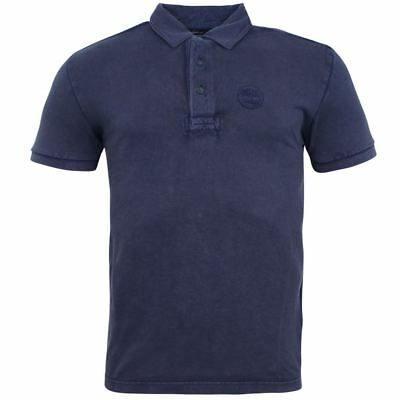 Timberland Milford Washed Pique 3 Button Up Mens Polo Shirt 0YGEW TB5 EE102