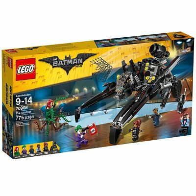 NEW LEGO Batman Movie The Scuttler 70908 Jetpack Joker Robotic Bat Vehicle NIB