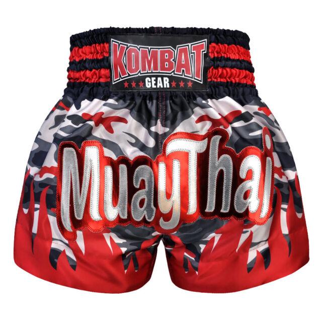 Kombat Gear Muay Thai Shorts Micro Fabric KBT-MS003-16