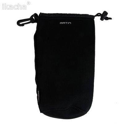 Housse de protection pr objectif Canon Nikon Sony Tamron,taille XL,H:22cm Ø10cm