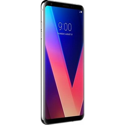 LG V30 H930 Silver Android Smartphone Handy ohne Vertrag LTE/4G Octa-Core WiFi