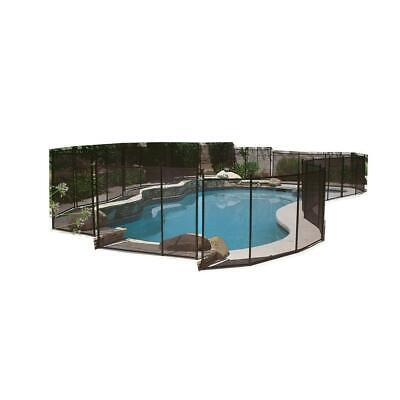 Pool Fence 5 ft. x 12 ft. Safety Accessory For In Ground Cli