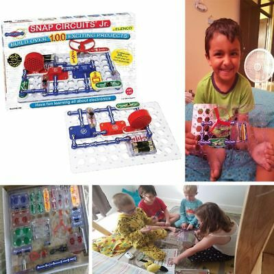 Snap Circuits Jr  Electronics Science Discovery Build Kit For Kids New Toy Game