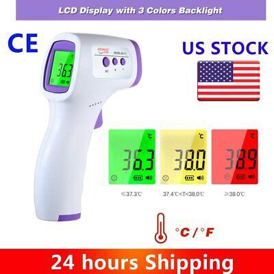Usa Stock Fda Ce Non-contact Infrared Thermometer Temperature Gun Meter Digital