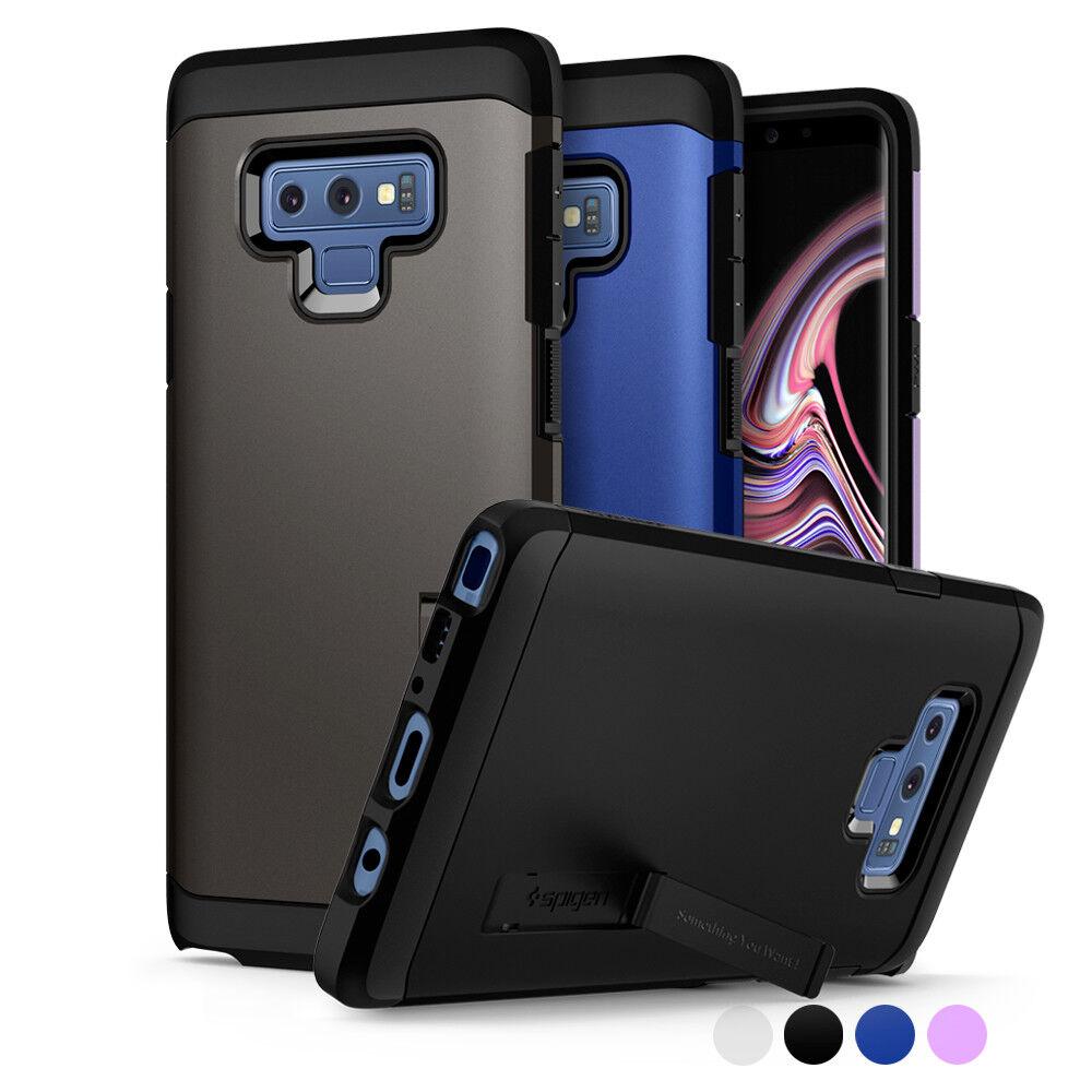Galaxy Note 9 Case I Spigen®  Shockproof Dual Layer Kicksta