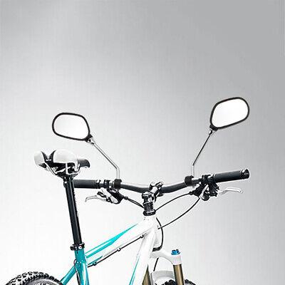 2 Unidad Bicicleta Retrovisores Espejo Manillar Eléctrica Set Izquierda Derecho