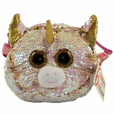 TY Beanie Boos Fashion Fantasia Purse with Reversible Sequins 6 in 1 NEW