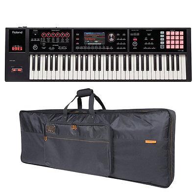 Roland FA-06 FA06 61-key Music Workstation & CB-B61 Keyboard Bag Bundle New