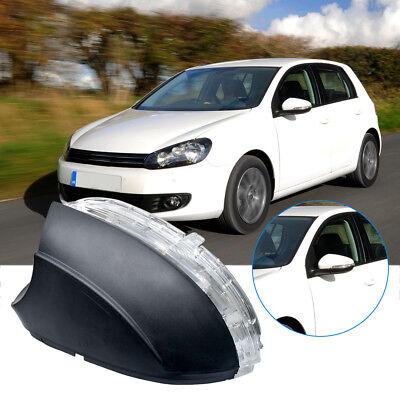Wing Mirror Indicator LEDTurn Signal Light Cover Left Side Fit VW Golf MK6 09 13