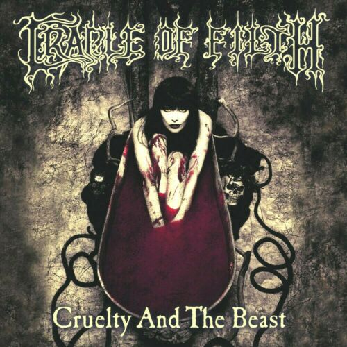 Cradle Of Filth Cruelty And The Beast 12x12 Album Cover Replica Poster Print