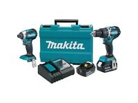 Makita lxt impact set used only a few times
