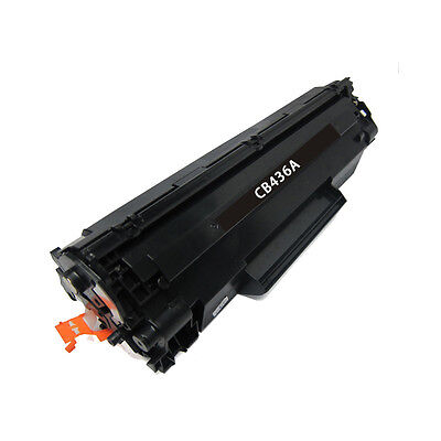 Remanufactured Toner Cartridge for HP 36A LaserJet P1505n, P1505 (Black)