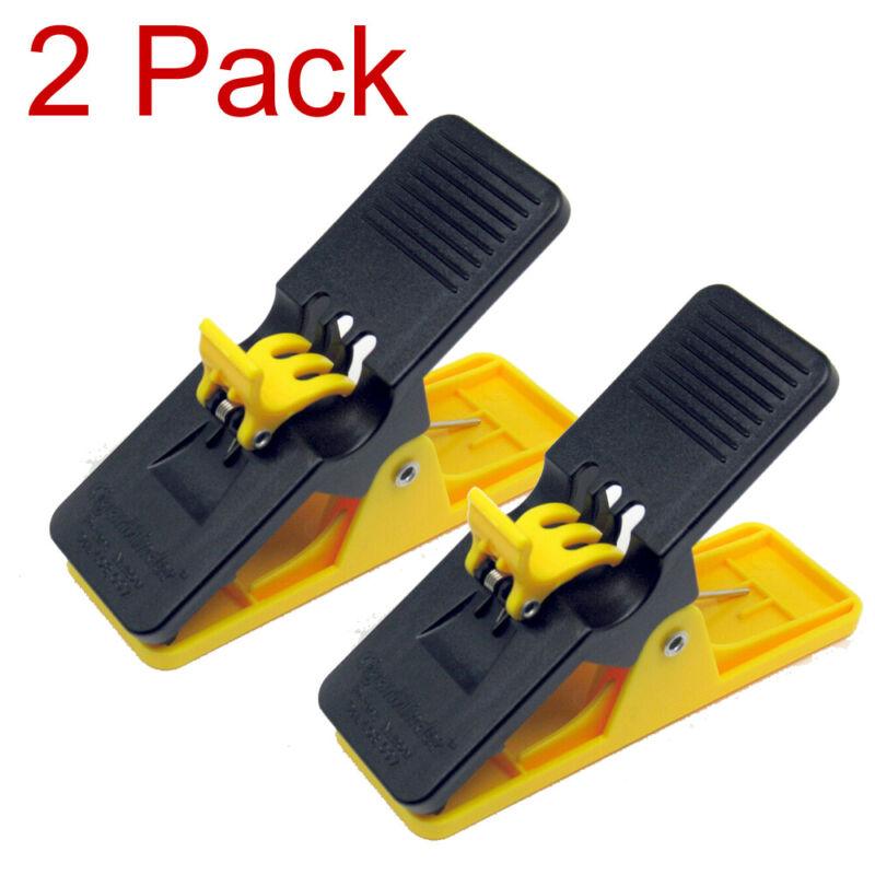 2 Pack Yellow Cigar Minder Clip Holder Saver Klip Golf Boat Auto
