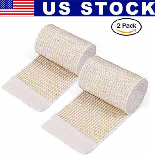 3 Inch Knee Wrist Elbow Ankle Cotton Elastic Bandage Compression