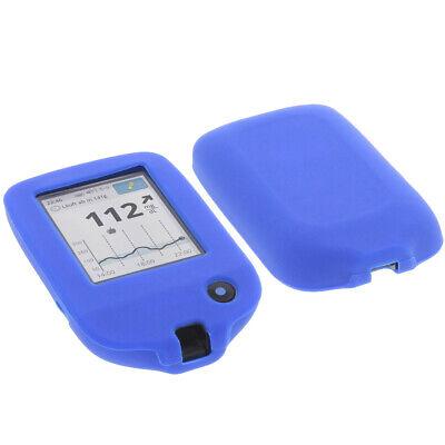 Tasche für Abbott Freestyle Libre 2 Schutz Hülle Silikon Silicon Blau