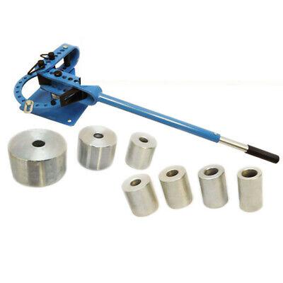 "Bench Top Tupe Pipe Rod Compact Bender Bending Metal Fabrication 7 Dies 1"" - 3"""
