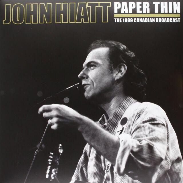 PAPER THIN  John Hiatt Vinyl Record