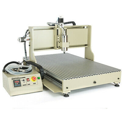 4axis Cnc 6090 Router Usb Style Engraver 1.52.2kw 3d Engraving Cutting Machine
