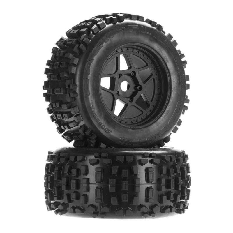 ARRMA Backflip MT 6S dBoots Mounted Tire Pair (2) AR510092
