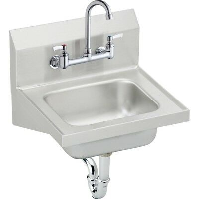 Elkay CHS1716C Single Bowl Handwash Sink Kit Elkay Hand Wash Sink