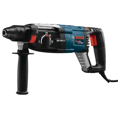 Bosch Hammer Drill 8.5 Amp Auxiliary Handle Blue Corded Variable Speed Rotary