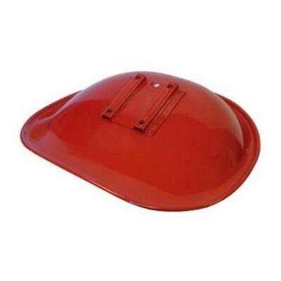 Amihhms Seat Red And White Vinyl Fits International Farmall H M Tractors