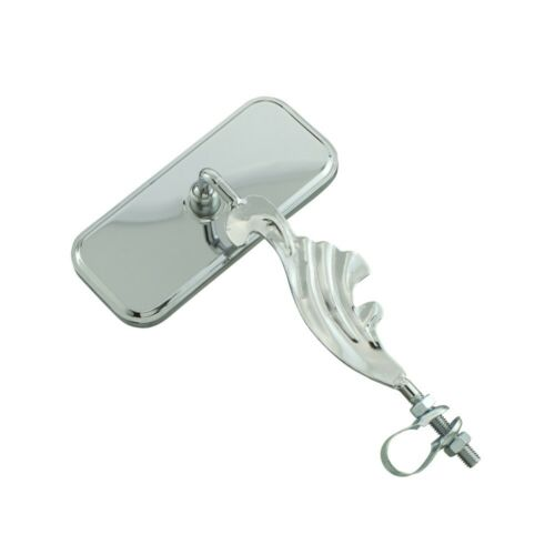 NEW!! Lowrider All Chrome Style Wing Rectangle Bicycle Mirro