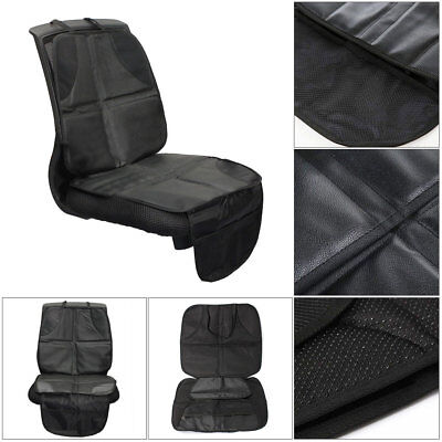 Car Seat Protector for Baby Booster Pet Mats Leather Material & Cloth Non Slip Compass Booster Car Seat