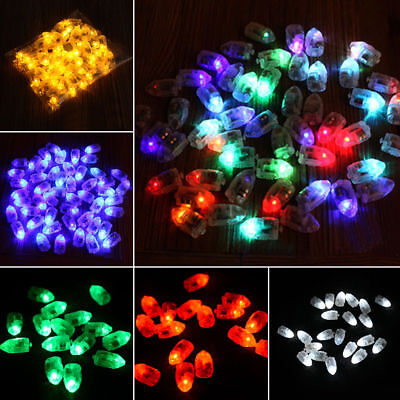 Mini LED Light Bulb Balloon For Lamp Paper Lantern Christmas Wedding Party Decor