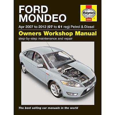 Ford Mondeo 2.0 Petrol 1.8 2.0 Diesel 2007-2011 (07-11 Reg) Haynes Manual