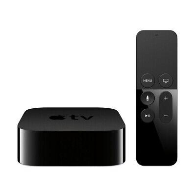Apple TV 4. Generation 32GB A8 HDMI WLAN Schwarz Siri Remote Fernbedienung