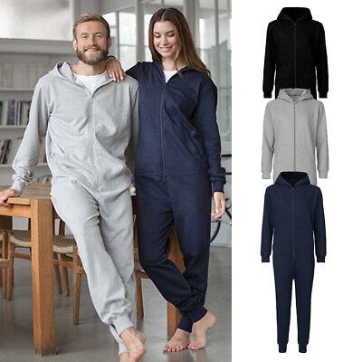Jumpsuit Overall Kostüm Kigurumi Pyjama Schlafanzug Jogginganzug Einteiler ()